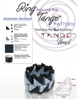 Pattern BeadMaster Ring Around Uses Tango FOC with bead purchase