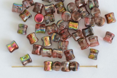 Diablo Red Crystal Magic Wine 00030-95200 Czech Glass Bead x 10g