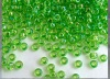 Miyuki Seed 0259 Green Size 11  Transparent Apple Green AB Bead 10g
