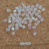 Fire Polished Clear 2 3 4 6 8 mm Crystal AB 00030-28701 Czech Bead
