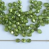 Fire Polished Green 3 4 mm Met Ice Crystal Olive 00030-67554 Czech Bead