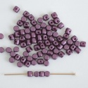 Minos Purple Alabaster Pastel Bordeaux 02010-25032 Czech Glass Bead x 5g