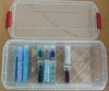 Storage Plastic Boxes For Bead Tubes Crafts Med