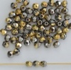 Fire Polished Grey 3 4 mm Crystal California Graphite 00030-98547 Czech Bead