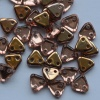 Triangle Gold Crystal Apollo Capri Gold 00030-27101 Czech Beads x 10g