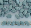 Paros Blue Chalk Baby Blue 03000-14464 Czech Glass Bead x 5g
