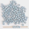 Minos Blue Chalk Baby Blue Shimmer  03000-14464 Czech Glass Bead x 5g