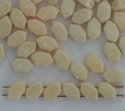 Paros Cream Chalk Champagne 03000-14413 Czech Glass Bead x 5g