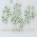 Minos Green Chalk Green Lt Shimmer  03000-14457 Czech Glass Bead x 5g