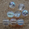 Dobble Clear Crystal AB 00030-28701 Czech Glass Beads x 20