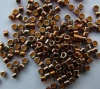 Miyuki Delica DB0506 Gold Size 11 24ct Red Gold Plated Bead 2g