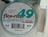 Flexrite Flex-Rite Wire 49 Strand Silver Plate  30Ft  .014'' .35mm .018'' .45mm