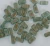 Brick Green Halo Heavens 29267 CzechMates Beads x 50