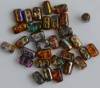 Rulla Orange Crystal Magic Copper - Orange Grey 00030-95300 Beads x 10g