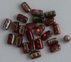 Rulla Red Crystal Magic Wine - Red Brown  00030-95200 Beads x 10g