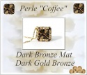 Pattern Puca Bead Coffee Kos Foc with bead purchase