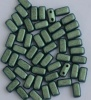 Brick Green Jet Polychrome Aqua Teal 23980-94104 Czech Mates Beads x 50