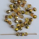 Fire Polished Gold 3 4 6 8 mm Sunny Magic Crystal Gold 00030-98002 Bead