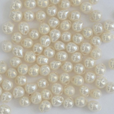 Miyuki Drop Cream DP0421d  3.4mm 2.8mm Cream Pearl Ceylon Bead 10g