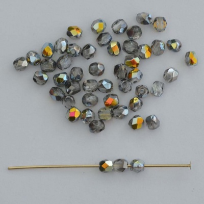 Fire Polished Yellow 2 3 4 mm Crystal Marea 00030-28001 Czech Bead