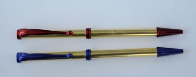 Beadable Pen Blue Red Green