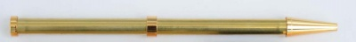 Beadable Pen Gold or Chrome Plated with Optional Grips