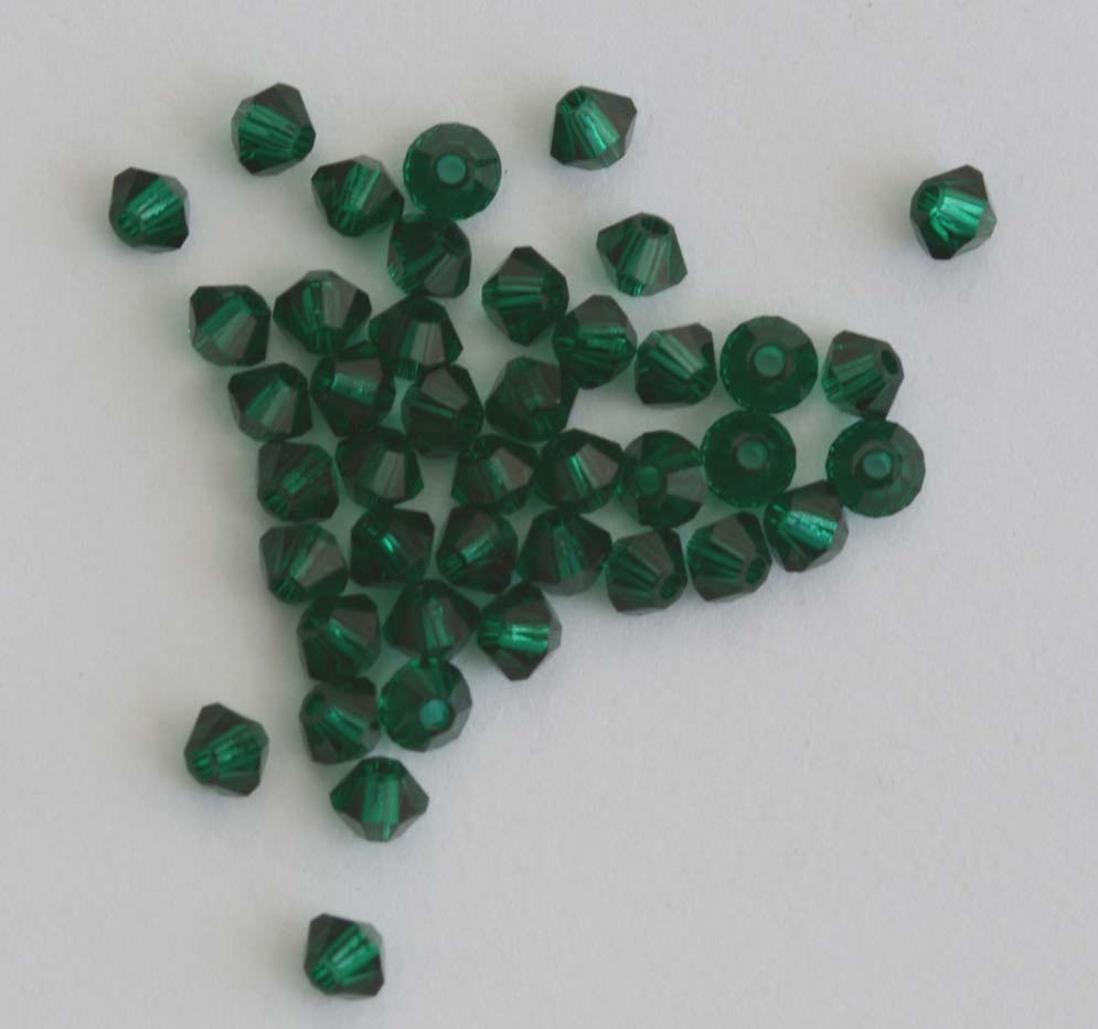 Fire Polished Green 3 4 mm Met Ice Crystal Sea Foam  00030-67525 Czech Bead