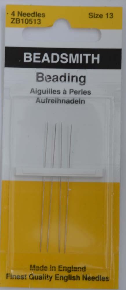Needles-John-James-Beading-Size-10-12-13-15-Packs-Of-4-And-25-Needles