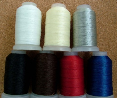 Thread Spool No Stretch Nylon Neclkace Repair Bead Stringing 7 Colours 4 Sizes