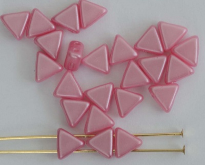 Kheops Pink Pastel Pink 02010-25008 Czech Glass Beads x 10g