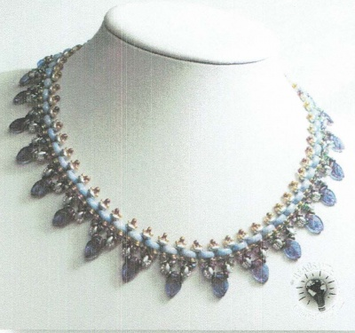 Pattern Moni Luna Necklace uses Half Moon  Foc with Bead Purchase