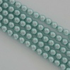 Glass Pearl Round Blue 2 3 4 mm Baby Blue 10110 Czech Beads