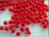 Miyuki Drop Red DP0140  3.4mm 2.8mm Transparent Red Bead 10g