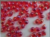 Miyuki Drop Red DP0254  3.4mm Transparent Red AB Bead 10g