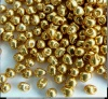 Miyuki Drop Gold DP4202  2.8mm Duracoat Galvanised Gold Bead 10g