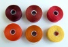 Thread Bead C-Lon S-Lon Size D or AA  6 Shades Red Orange Yellow