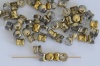 Diablo Gold Crystal Amber 00030-26441 Czech Glass Bead x 10g