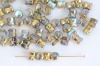 Diablo Gold Crystal Golden Rainbow 00030-98536 Czech Glass Bead x 10g