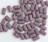 Brick Purple Jet Metallic Suede Pink 23980-79086 Czech Mates Beads x 50