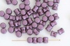 Diablo Purple Alabaster Pastel Bordeaux 02010-25032 Czech Glass Bead x 10g