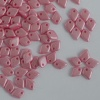 Dragon Scales Pink Alabaster Pastel Pink 02010-25008 Czech Glass Bead x 5g