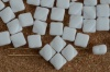 Silky White Chalk White  03000 Czech Glass Beads x 10g