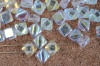 Silky Clear Crystal AB 00030-28701 Czech Glass Beads x 10g