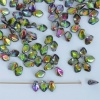 Gekko Green Crystal Magic Orchid 00030-95000 Czech Glass Bead x 5g