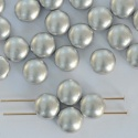 Candy Round Silver 6 8 12 mm Crystal Matt Metallic Aluminium 00030-01700 Czech Glass Bead