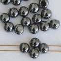 Candy Round Grey 6 8 12 mm Hematite 23980-14400 Czech Glass Bead