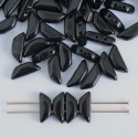 Tinos Black Jet 23980 Czech Glass Bead x 5g