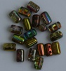 Rulla Green Crystal Magic Green - Yellow Brown 00030-95400 Beads x 10g