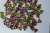 Tri Green Crystal Magic Orchid 00030-95000 Czech Beads x 5g
