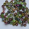 O Beads Green Crystal Magic Orchid Czech Glass Beads x 5g